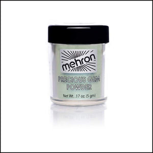 Mehron Precious Gem Powder Pigment-Face Powders-Mehron-Aquamarine-The Theatrical Make Up Store