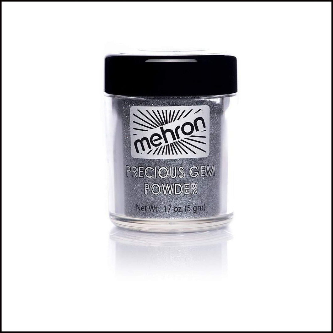 Mehron Precious Gem Powder Pigment-Face Powders-Mehron-Black Onyx-The Theatrical Make Up Store