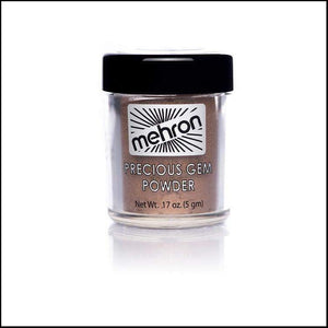 Mehron Precious Gem Powder Pigment-Face Powders-Mehron-Bronzite-The Theatrical Make Up Store