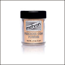 Mehron Precious Gem Powder Pigment-Face Powders-Mehron-Citrine-The Theatrical Make Up Store