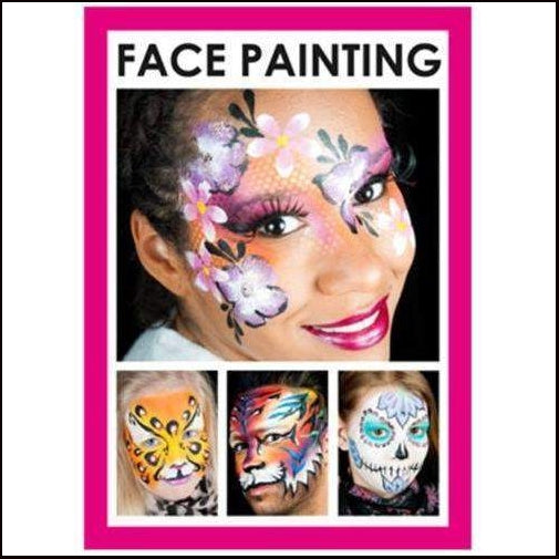 Face Painting Booklet-Booklets-Grimas-The Theatrical Make Up Store