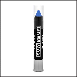 PaintGlow Glow in The Dark Paint Stick-Other Face Makeup-PaintGlow-Blue-The Theatrical Make Up Store
