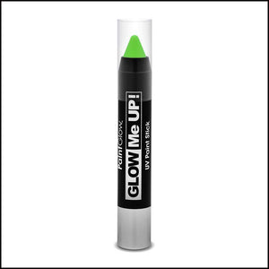 PaintGlow Glow in The Dark Paint Stick-Other Face Makeup-PaintGlow-Green-The Theatrical Make Up Store