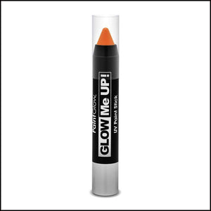 PaintGlow Glow in The Dark Paint Stick-Other Face Makeup-PaintGlow-Orange-The Theatrical Make Up Store