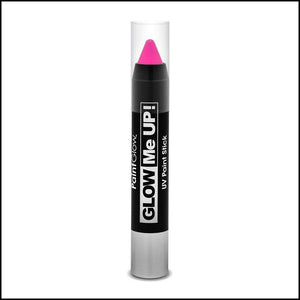 PaintGlow Glow in The Dark Paint Stick-Other Face Makeup-PaintGlow-Pink-The Theatrical Make Up Store