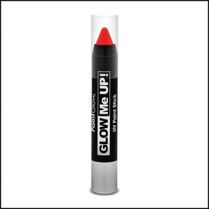PaintGlow Glow in The Dark Paint Stick-Other Face Makeup-PaintGlow-Red-The Theatrical Make Up Store