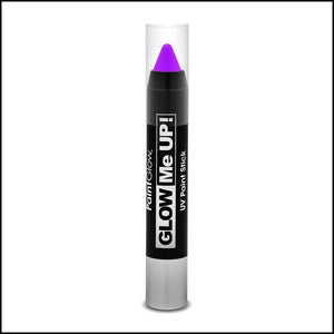 PaintGlow Glow in The Dark Paint Stick-Other Face Makeup-PaintGlow-Violet-The Theatrical Make Up Store