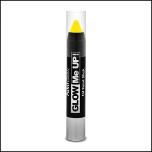 PaintGlow Glow in The Dark Paint Stick-Other Face Makeup-PaintGlow-Yellow-The Theatrical Make Up Store