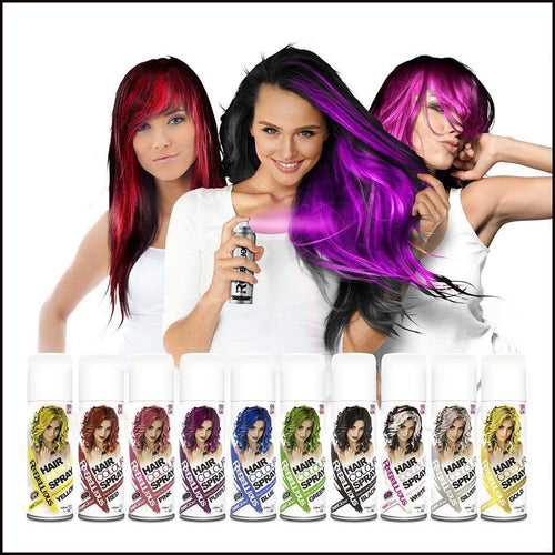 PaintGlow Rebellious UV Hair Colour Spray-Hair-PaintGlow-The Theatrical Make Up Store