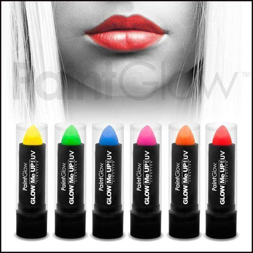 PaintGlow Neon Lipstick UV Reactive-Lip Gloss-PaintGlow-The Theatrical Make Up Store