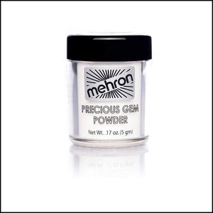 Mehron Precious Gem Powder Pigment-Face Powders-Mehron-Pearl-The Theatrical Make Up Store