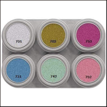 Grimas 6 Colour Palette Pearl Water Based-Face Paint & Stage Make-Up-Grimas-The Theatrical Make Up Store