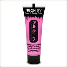 PaintGlow UV Face Paint & Body Paint, 13ml-Face Paint & Stage Make-Up-PaintGlow-UV PINK-The Theatrical Make Up Store