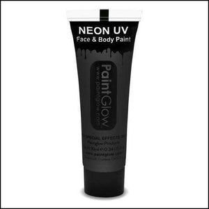 PaintGlow UV Face Paint & Body Paint, 13ml-Face Paint & Stage Make-Up-PaintGlow-BLACK-The Theatrical Make Up Store