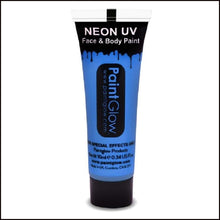 PaintGlow UV Face Paint & Body Paint, 13ml-Face Paint & Stage Make-Up-PaintGlow-UV BLUE-The Theatrical Make Up Store