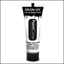 PaintGlow UV Face Paint & Body Paint, 13ml-Face Paint & Stage Make-Up-PaintGlow-WHITE-The Theatrical Make Up Store