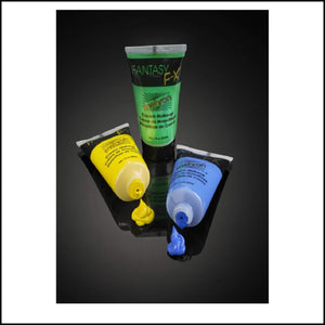 Mehron Fantasy FX Make Up-Face Paint & Stage Makeup-Mehron-Flo Yellow-The Theatrical Make Up Store