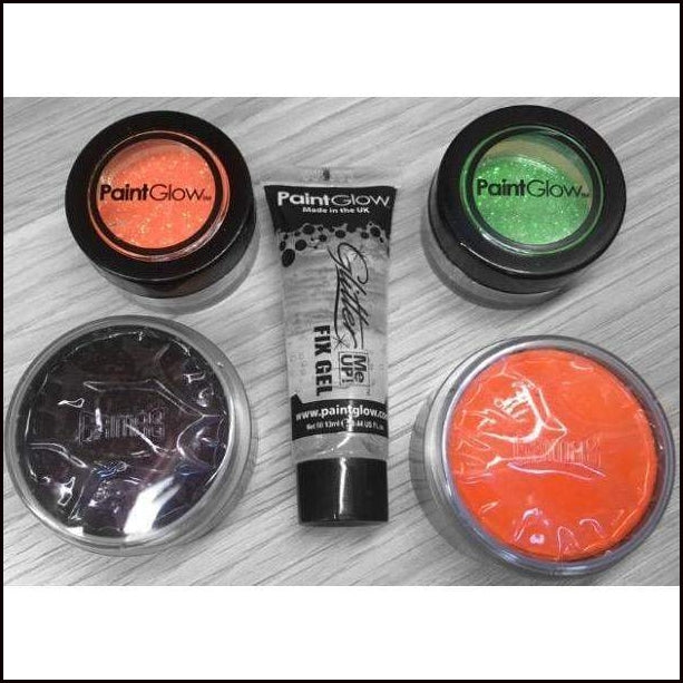Fancy Dress Make-Up KIt Pumpkin-Face Paint & Stage Make-Up-PaintGlow-The Theatrical Make Up Store