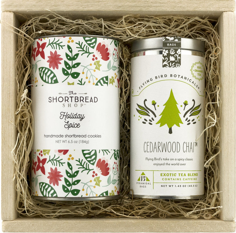 Holiday Spice & Cedarwood Chai Gift Set