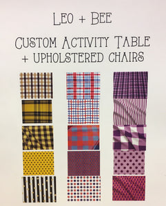 Custom Color Activity Table