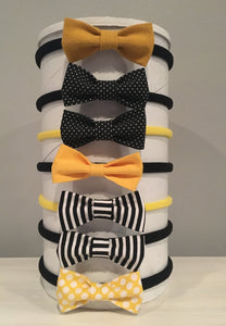 Spirit Bows - Black & Yellow