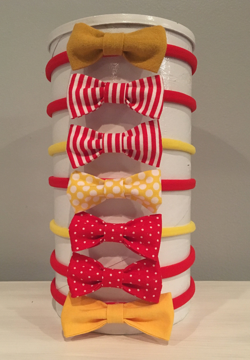 Spirit Bows - Red & Yellow