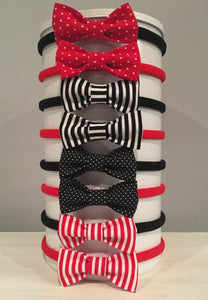 Spirit Bows - Black & Red
