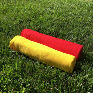 Spirit Swaddle - Red + Yellow 2 pack