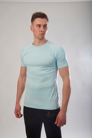 Blue Vivid Performa T-Shirt