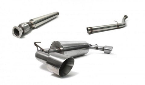 Perrin Brushed 3in Resonated Catback Exhaust - 86