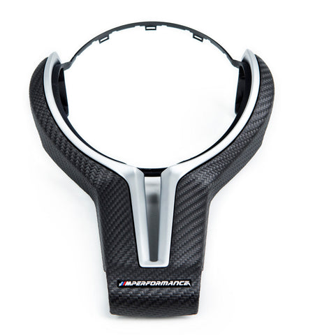 BMW M Performance Matte Carbon Steering Wheel Trim - F87 M2