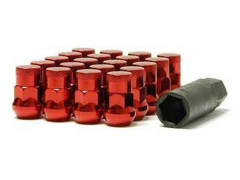 Muteki SR35 Closed End Lug Nuts w/ Lock Set - 12x1.50