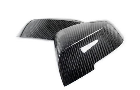BMW M Performance Carbon Fiber Mirror Caps - F87 M2