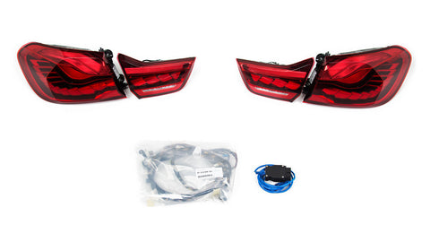 BMW OEM M4 GTS OLED Euro Tail Light Set - F82 M4/GTS