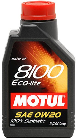 Motul 8100 Eco-Lite 0W-20 Engine Oil - 1L