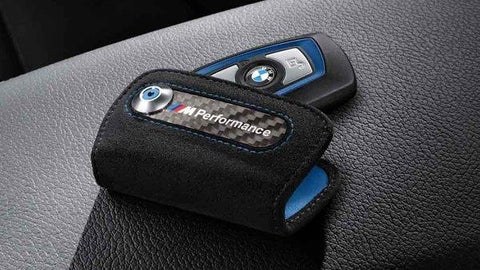 BMW M Performance Alcantara Key Case