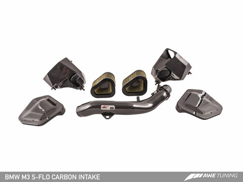 AWE Tuning S-Flo Carbon Intake Kit - F8X M3/M4