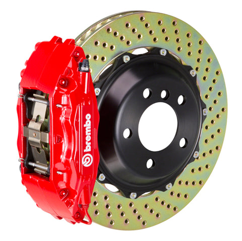 Brembo GT 4-Piston 345x28mm Rear Big Brake Kit - E9X M3