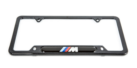 BMW ///M Carbon Fiber License Plate Frame