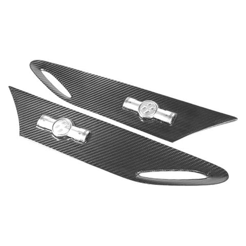 APR Performance Carbon Fiber Fender Inserts - 86