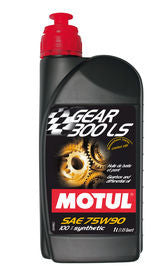 Motul Gear 300LS 1L Transmission Fluid 75W-90