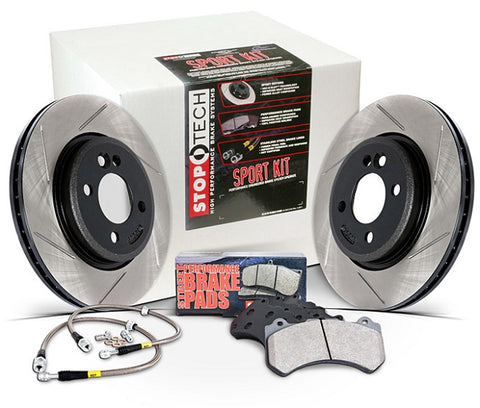 Stoptech Slotted Sport Brake Kit - 86