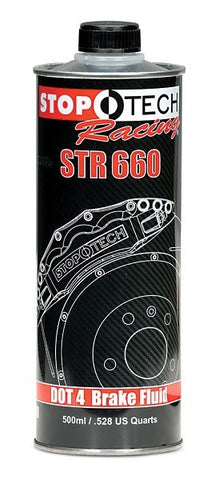 Stoptech STR-660 DOT4 Brake Fluid - 500ml