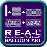 RE-A-L™ Balloon Art illustration / Logo / icon