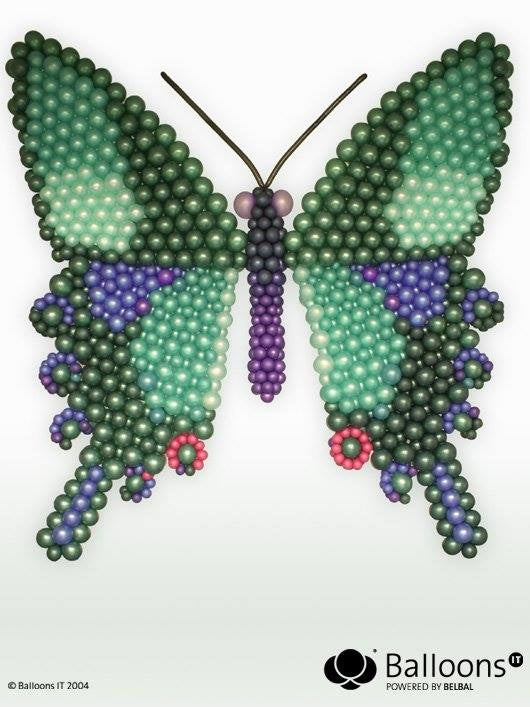 Butterfly by Michael Gjerek MadeWithBalloons™