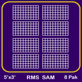 Rouse Matrix SAM™ 5'X3' (8pk)