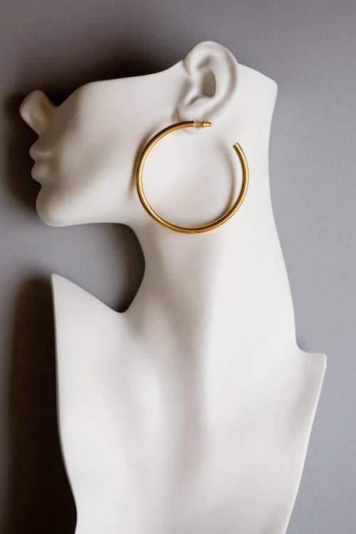 Large Oversize Hoop Earrings
