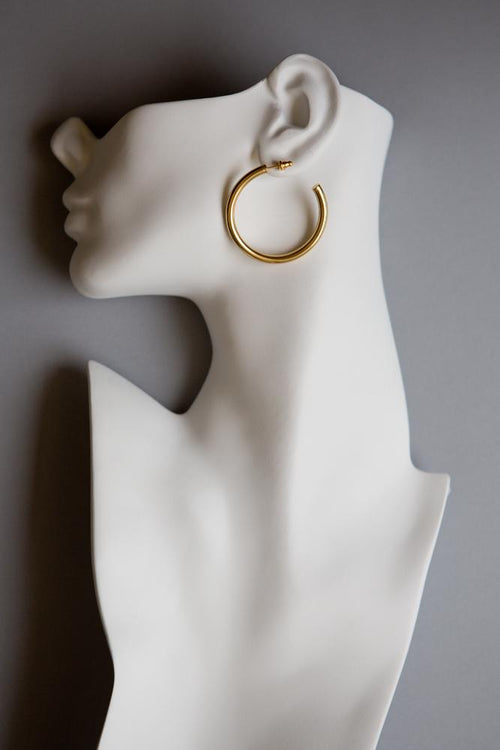 Medium Hoop Earrings - Wynter Bloom