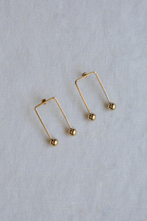 U Shaped Arch Earrings
