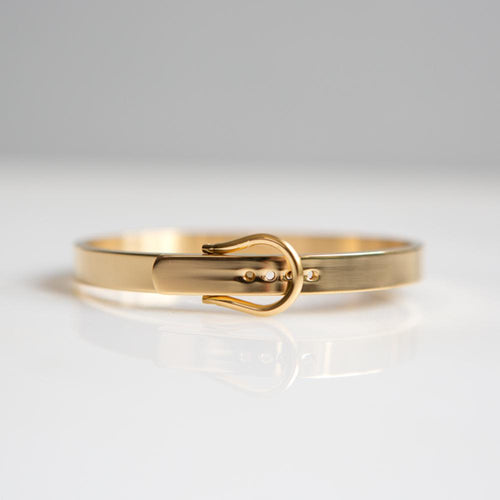 Belt Buckle Bangle Bracelet